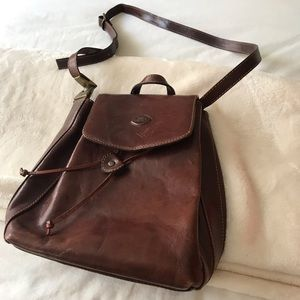 THE TREND LEATHER OVER THE SHOULDER SATCHEL